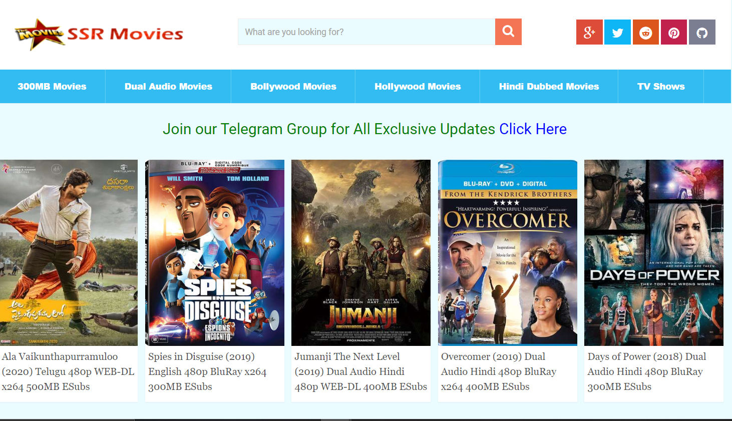 SSRMovies 2021: SSR Movies Illegal Website to Download Latest HD Bollywood Movies 300MB Dual Audio Bollywood, Hollywood…