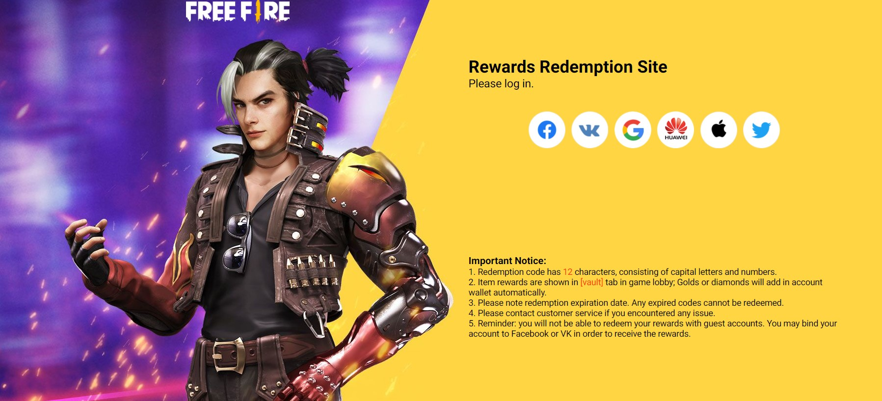 Free Fire Redeem Code List: ff garena free fire redeem code 7th July, 2021: Free custom room cards in India available