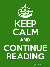How do you say Continue reading? | continue reading or continue to read?