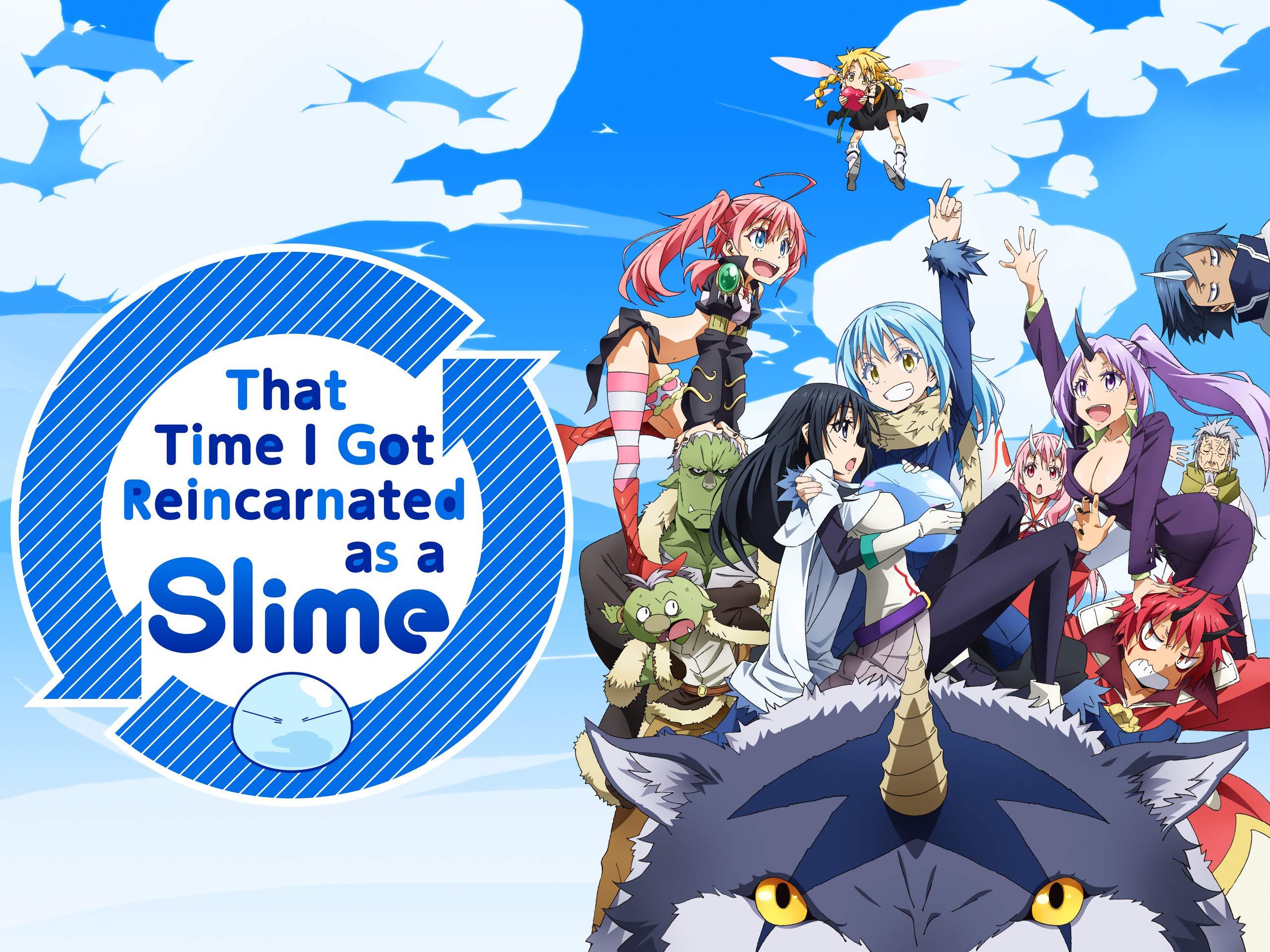 That Time I Got Reincarnated as a Slime – Best Japanese fantasy light novel series